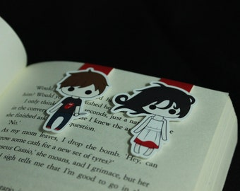 Ghost and Ghost Hunter | Magnetic Bookmarks