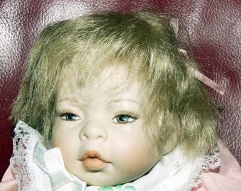 "Artist doll original ""Luna Baby"", ca.26 cm  (2)"