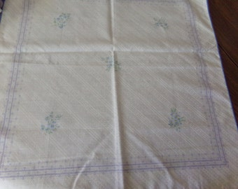 Table Napkins 16x16 Lot of 9