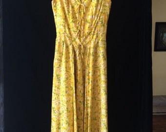 1950's Suzy Perette silk dress