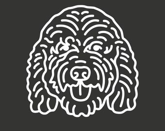 Goldendoodle Decal GD120
