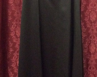 Urban Girl Nites Long Black Formal Strapless Dress Size M