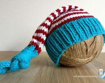 Sleep Cap (Red, White & Blue)