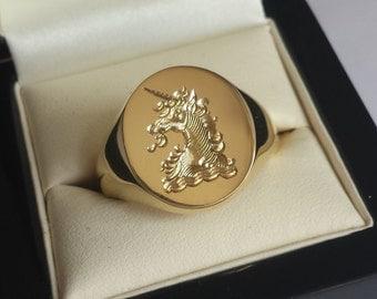 Resultado de imagen para anillos de sello grabado en cad