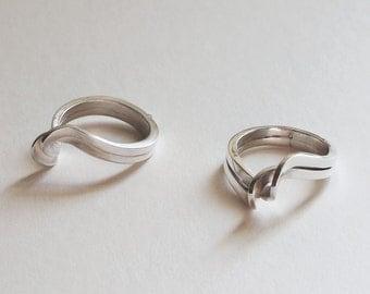Sterling Silver Twisty Ring