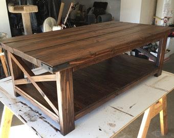Coffee Table. Cross