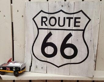 Garage decor etsy for Route 66 garage metz