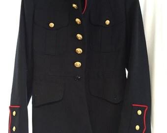Men's vintage inspired, military coat