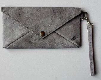 Envelope clutch grey with inside sheep Association