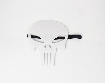 Punisher Mask, Hero Mask, Children Mask, Kids Mask, Party Mask