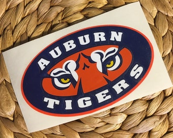 Auburn University Tigers Vinyl Decal