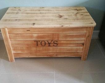 Handmade Toy chest