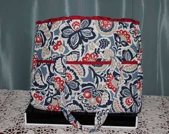 Large Tote Paisley