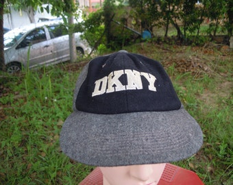 RARE Vintage DKNY Sport | DKNY Relaxed | Dkny Hipster Cap Hat free size for all