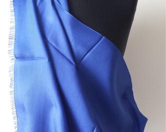 Silk stole Blue