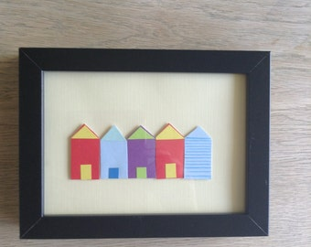 Beach hut frame
