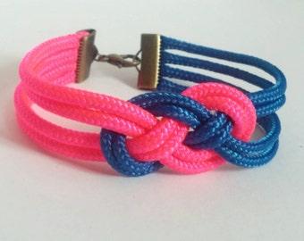 Sailors Knot Bracelet: Two Colors