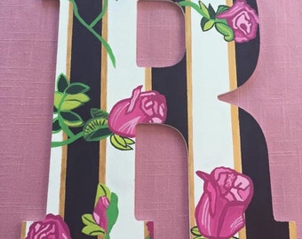Customized rose letters