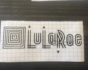 Solid Colored LuLaRoe Decal