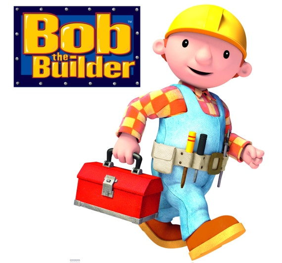 bob the builder wall stickers totally by onehopstickershop