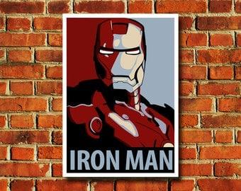 Iron Man Poster - #0503