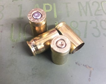 Flash Sale 380 ACP (380 Auto) Recycled Brass Bullet Casings - 1500 Count Available - Reloading or Craft