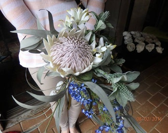 Stunning Native King Protea bouquet