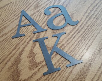"24"" Metal letters, numbers and signs (24 inch tall)"