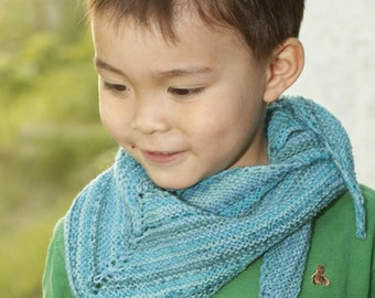 KIDS scarf Scarf knitting cloth children Strip