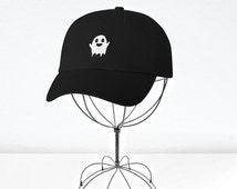 Ghost Embroidered Baseball Cap