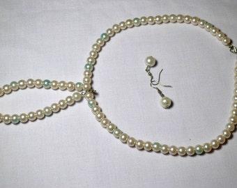 Beige Jewelry Set
