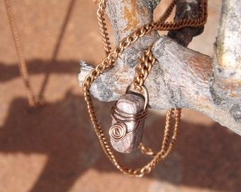 Copper Circle Necklace