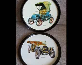 Antique Car Trays