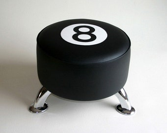 8 Ball footstool