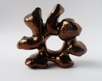 Fine Art Sculpture, Bronze Ceramic Art, Abstract Sculpture, Industrial Sculpture, Bronze Sculpture, Modern Sculpture, 3D Art, Sculpture Art