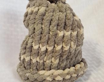 Cozy Knit Newborn Hat, Camo
