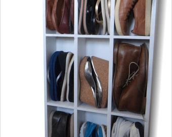 Wall Mount Shoe Rack
