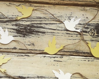 Rustic Bird Garland