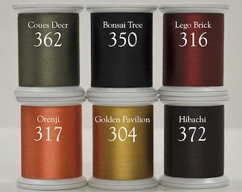 Silk Thread - Kimono Thread - Superior Threads - Applique Thread - Baltimore Autumn - #100 Silk Thread