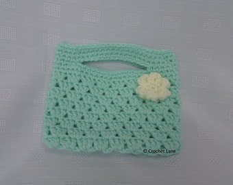 bag with flower detail