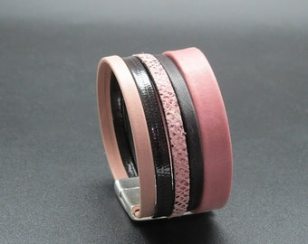 Cuff leather Colubri