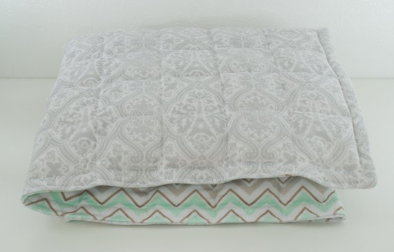 Adult Weighted Blanket Minky Weighted Blanket By SensoryWorld