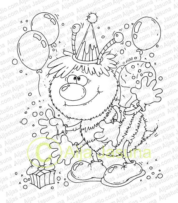 bumble bee balloon coloring pages - photo#12