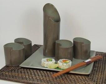 Six Piece Sake Set