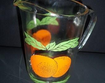 Orange Juice Pitcher - 1 QUART Pitcher