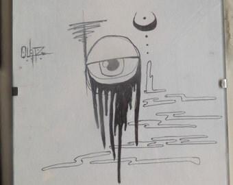 Third-eye Sketch