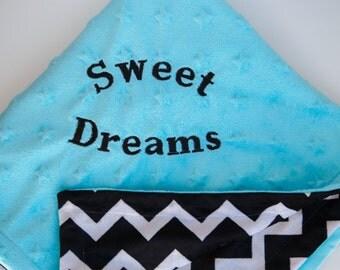 Minky Star Baby Blanket