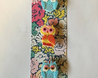 Quirky Owl Magnets (Set of 3)