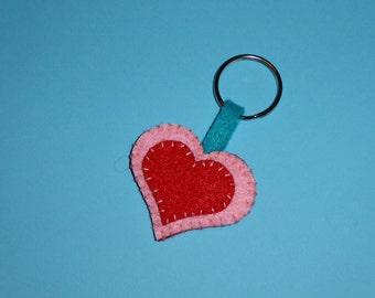 Heart Keyring #1