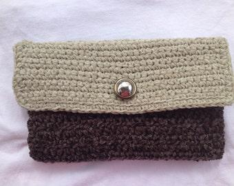 Crochet handmade evening bag